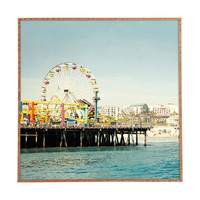 Bree Madden Pacific Wheel Framed Wall Art
