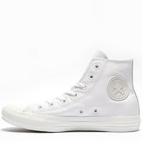 Womens Chuck Taylor All Star High Leather Mono Trainer