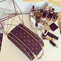 Fanewants/ LOUIS VUITTON LV MAKEUP BAG TOILETRY COSMETIC BAG BAGS PURSE WALLET HIGHT QUALITY
