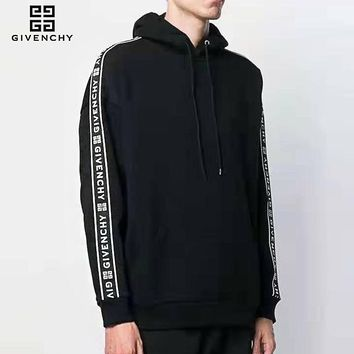 Givenchy sells casual hoodies for couples, fashion arms and LOGO knit hoodies
