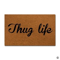 Autumn Fall welcome door mat doormat  Entrance Floor Mat Funny  Thug Life  Decorative Indoor Outdoor  AT_76_7