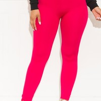 My Favorite  Leggings Ever Hot Pink