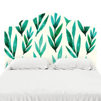 River Bed Headboard Decal