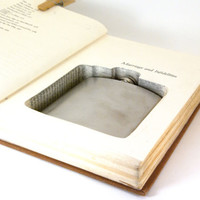 Hollow Book Safe w Flask - Marriage and Infidelities