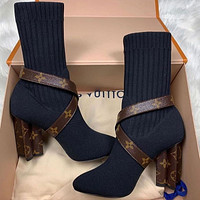 Louis Vuitton High Heels Shoes LV Bootz
