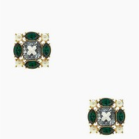 kate spade new york Uptown Pearl Cluster Studs