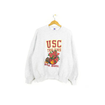 1996 USC TROJANS Rose Bowl sweatshirt - vintage 90s - university of southern california - college football