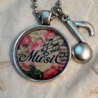 Music Notes Pendant 4
