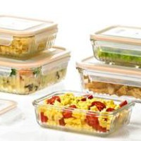 Glasslock Ovenproof Retro Food-Storage Sets (6-, 8-, or 10-Piece)