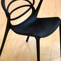 Loopy Asphalt Black Chair