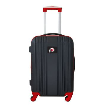 Utah Utes Luggage Carry-on 21in Hardcase two-tone Spinner 100% ABS-RED