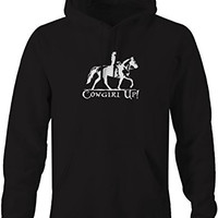 Cowgirl Up Equestrian Hat Boots Horseback Riding Pullover Sweatshirt - Xlarge