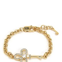 Pave Key Chain Link Bracelet by Juicy Couture
