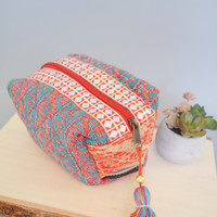Sparkle + Shine Origami Bag Coral