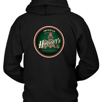 Harry Potter Imported Muggle Ale Hogwarts Hoodie Two Sided
