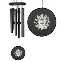 SheilaShrubs.com: Woodstock Habitats Chime Flower Black WOODHCKF by Woodstock Chimes : Outdoor Garden Windchimes