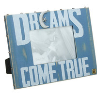 Dreams Come True - Easel Back Photo Frame for 4x6 Photo