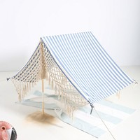 Striped Beach Tent