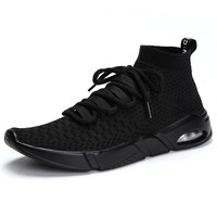 2018 Men Running Shoes Brand Designer Outdoor Men's Sock Shoes Sneakers Mens Sport Athletic Shoes Size 39-46