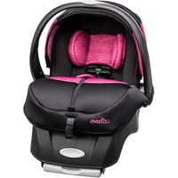Evenflo Advanced Embrace DLX Infant Car Seat with SensorSafe, Kona, with BONUS Car Seat Base - Walmart.com
