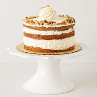Lotus Cake Stand by Anthropologie in White Size: Cake Stand Kitchen