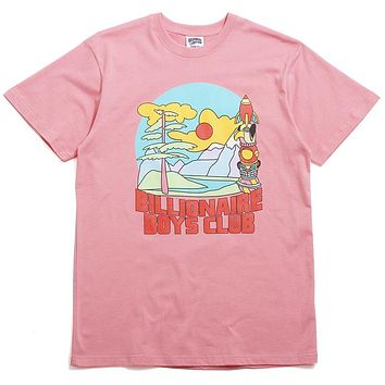 Great Scene SS T-Shirt Pink Icing