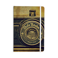 """Robin Dickinson """"Discarded Treasure"""" Vintage Camera Everything Notebook"""