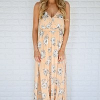 Just Another Floral Maxi Dress