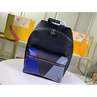 LV Louis Vuitton 2021 NEW ARRIVALS MONOGRAM LEATHER DISCOVERY BACKPACK BAG