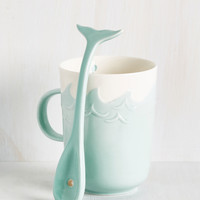 Whale-Balanced Breakfast Mug | Mod Retro Vintage Kitchen | ModCloth.com