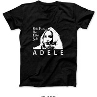 Adele Hello From The Other Side Illustrations Mens T Shirt