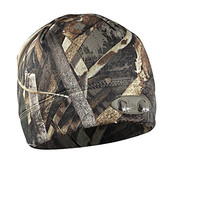 4 LED Headlamp Realtree MAX 5 Camo Hands-Free Lighted Hunting Beanie By Panthervision