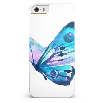 Bright Graceful Butterfly iPhone 5/5s or SE INK-Fuzed Case