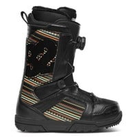 ThirtyTwo STW Womens BOA 2013 (Black/Print) Snow Boots Womens Boots at 7TWENTY Boardshop, Inc