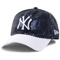 New York Yankees Women's Victoria's Secret PINK® Bling 9FORTY Adjustable Cap by New Era - MLB.com Shop