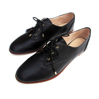 England Style Summer Leather Shoes [4918349124]