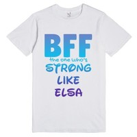 Bff The One Who's Strong T-shirt - Cartoon Character Series (idb110...