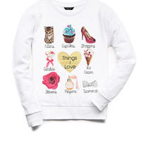 Kittens & Cupcakes Sweatshirt (Kids)