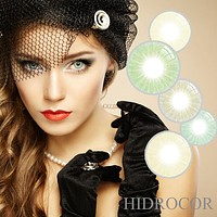 1 Pair Unisex Charming Big Eye Makeup Cosmetic Colour Contact Lenses Beauty Tool