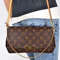 LV fashion pearl diamond bee more letter print leather chain handbag shoulder bag crossbody bag