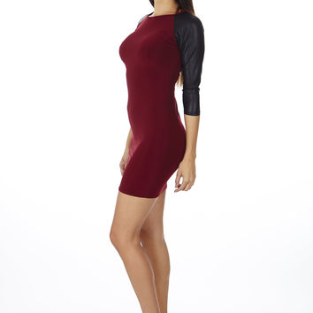 Slim Fit Jersey Dress