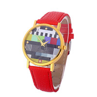 Girls Leather Strap Wrist Watch Womens Casual Sports Watches Best Christmas Gift