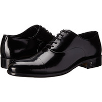 Versace Collection Patent Leather Cap Toe Lace-Up