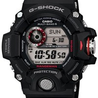 Casio Master of G - G-Shock Mens Rangeman Watch - Triple Sensor - Black