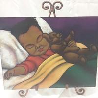 Sweet Dreams Art Plaque