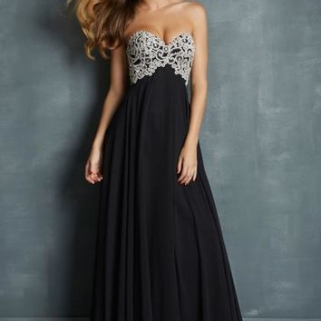 Night Moves 7027 at Prom Dress Shop