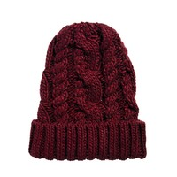 ASOS | ASOS Cable Boyfriend Beanie at ASOS