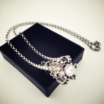 Shiny New Arrival Stylish Jewelry Gift Hip-hop Club Necklace [8439468739]