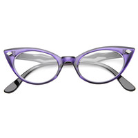 Womens Cat Eye Sunglasses With UV400 Protected Lens
