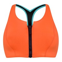 Wetsuit Style Bikini Top By Kendall + Kylie at Topshop - Topshop